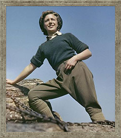 a typical land girl
